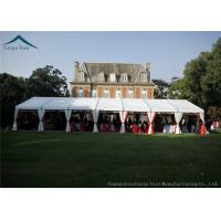Buy cheap Wide Space 20 x 30 Beautiful Wedding Tents Colorful Decorations / Carpet PVC Fabric from wholesalers