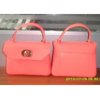 Buy cheap Portable Pink Silicone Coin Purse , Cute Make Up Bags from wholesalers