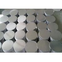 Quality Commercial Grade 3003 Aluminum Sheet Circle , DC Deep Drawing Aluminium Circles for sale
