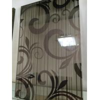 Buy cheap Black Silk Tempered Pvb Laminated Art Glass Flat Panel 8mm For Home from wholesalers