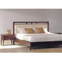 Buy cheap King Size Bedroom Furniture Sets / Solid Hardwood Bedroom Furniture For Hotel Rooms from wholesalers