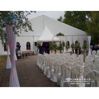 Buy cheap Rainproof PVC Fabric Wedding Marquee Tent Max. Wind Load 80 ~ 100km/H from wholesalers