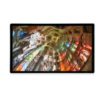 Buy cheap Metal edge hd 49 inch LCD Advertising Player full HD retail transparent Samsung LCD display from wholesalers