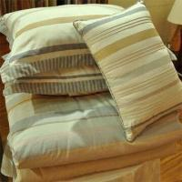 Buy cheap 100% Cotton Yarn Dyed Duvet Covet Set, Customized Sizes and Colors are Accepted product