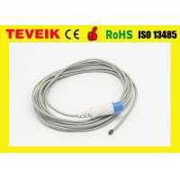 Buy cheap Compatible Drager /Siemens adult/child rectal surface temperature probe with round 7pin connector from wholesalers