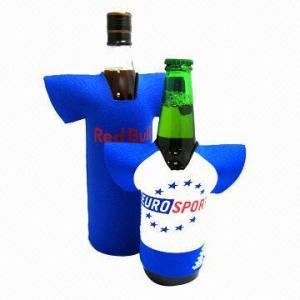 Buy cheap Neoprene Wine Beer Bottle Stubby Holder/Can or Bottle Cooler in T-Shirt Shape product