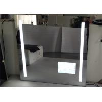 Buy cheap Led Hotel / Bathroom Frameless Mirror TV High Resolution With Wide View Angle from wholesalers