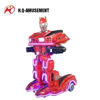 Buy cheap 2018 popular game machine new design rc electric robot toys mini robot amusement park ride on robot for kids from wholesalers