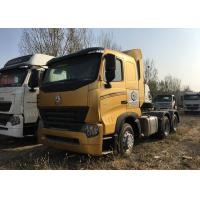 Durable HOWO A7 Tractor Truck, High Performance 420HP Tractor Head Truck For Logistics