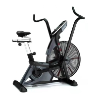 Buy cheap Commercial New LCD Indoor Air Cycling Assault  Bikes High Performance With Chain Structure from wholesalers
