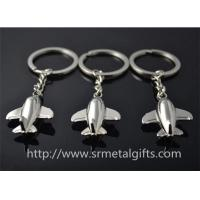 Buy cheap Metal aviation plane model drop charm key chains, cheap metal air plane fob to keychains, from wholesalers