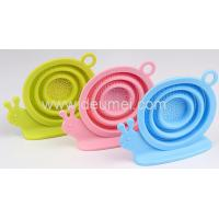 Buy cheap New Promotional Silicone Tea Infuser/Snail Shape Silicone Tea Strainer Tea Bag Holder from wholesalers