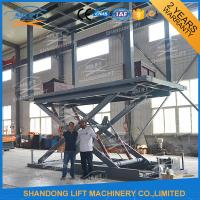 Buy cheap Hydraulic Scissor Double Deck Car Parking System 2.5T Loading 3.3m Lifting Height from wholesalers