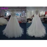 Buy cheap Fashion Beaded Princess Wedding Dresses / Maxi Tulle Beautiful Princess Wedding Gowns from wholesalers