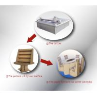 Buy cheap recycled-carton box sample maker proofing cutter production machine from wholesalers
