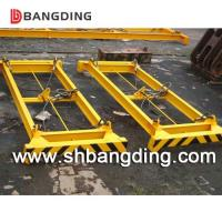 Buy cheap BANGDING simple style hydraulic semi-automatic container spreader lifting frame 20 40 feet ISO standard from wholesalers