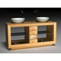 Buy cheap New Supply Wooden Sanitary Cabinet with Wash Basin from wholesalers