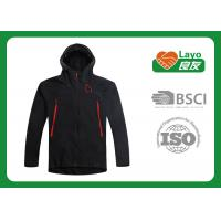 Buy cheap Mens Hooded Softshell Jacket , Lightweight Softshell Jacket L-078 from wholesalers