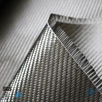 Buy cheap Building Reinforcement 3K Twill Weave Carbon Fiber Fabric 0.3mm 200g from wholesalers
