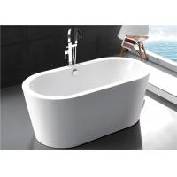 Buy cheap Solid Surface Modern Freestanding Bathtub , High Back 55 Inch Freestanding Tub from wholesalers