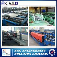 Buy cheap Cable Tray Ladder Making Cold Roll Forming Machine, Cable Tray Making Machine 1 ~ 3mm Thick from wholesalers