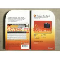 Buy cheap Genuine Microsoft Office 2010 / 2013 / 2016 Key Card 64 Bit Factory Price Online Activation Life Time from wholesalers