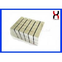 Buy cheap Rectangle / Cube Shape Rare Earth Magnet Block , Super Strong Neodymium Magnets from wholesalers