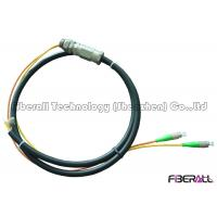 Buy cheap Waterproof Rugged Optical Fiber Pigtail With PE Jacket For Outdoor 2 To 12 Fibers from wholesalers