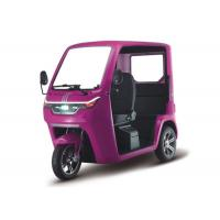 Buy cheap Half Open 1000W 60V Passenger Electric Tricycle from wholesalers