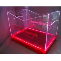 Buy cheap Clear Acrylic Display Case ,Acrylic Wine Bucket With Led OEM product