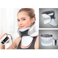 Buy cheap Leawell Pneumatic Cervical Collar , Electric Auto Pump Traction Neck Brace from wholesalers