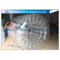 Buy cheap PVC Transparent Inflatable Rolling Ball , Funny Huge Inflatable Walk On Water Ball product