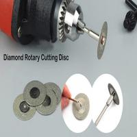 Buy cheap Diamond Rotary Cutting Disc For Cutting Gemstone , Glass, Stone lucy.wu@moresuperhard.com from wholesalers