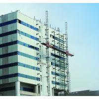 Buy cheap Customized 30m Aerial Twin Mast Climbing Work Platform for Construction of the Walls from wholesalers