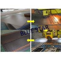 Buy cheap Decorative Perforated Sheet Metal Panels , Perforated Copper Sheets Corrosive Resistance from wholesalers