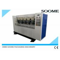 Buy cheap Electrical Thin Blade Slitter Scorer , Creasing Board Paper Slitting Machine Correction Type from wholesalers