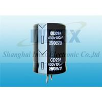 Buy cheap CD293 2000Hrs 85C Snap in electrolytic capacitor from wholesalers