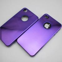Buy cheap NCVM Plating Metallic Mirror back cases Mobile Phone Hard Cases for iPhone 4S from wholesalers
