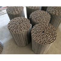 Custom Balanced Net Wire Conveyor Belts High Temperature Oxidation Proof