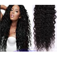 Buy cheap Real Curly Human Hair Extensions Double Knots Soft For Dream Girl from wholesalers