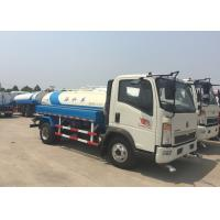 Buy cheap SINOTRUK HOWO Light truck Water Tank Truck 5-8CBM For Road Flushing from wholesalers