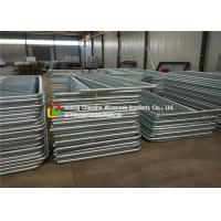 Buy cheap Carbon Steel Pipe Metal Guard Rails , Civil Engineering Metal Pipe Fence product