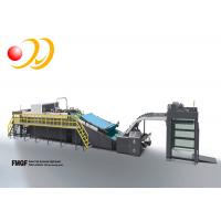 Buy cheap FMQF Series Flute Laminating Machine With Pile Reversing System from wholesalers