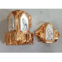 Buy cheap Anti Corrosion Coffin Fittings Corners , Funeral Accessories Suppliers from wholesalers