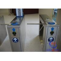 Buy cheap Ticket tripod turnstile flow control passing  with hs code and FRID card for scenic spot from wholesalers