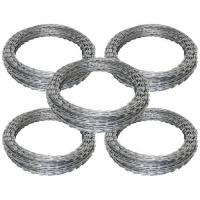 Buy cheap Customized Concertina Razor Wire , PVC Coated Razor Wire High Tensile from wholesalers