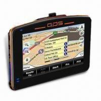 Buy cheap 4.3-inch GPS Navigation, Supports Bluetooth, FM Transmitter and AV-in from wholesalers