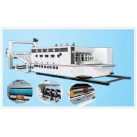 Buy cheap Automatic Flexo Printer Slotter Die-cutter Stacker, Automatic Back-kick Feeding from wholesalers