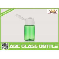Buy cheap Sample bottle for lotion cream,plastic green 15ml bottle for skin care cream product