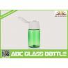Buy cheap Sample bottle for lotion cream,plastic green 15ml bottle for skin care cream from wholesalers